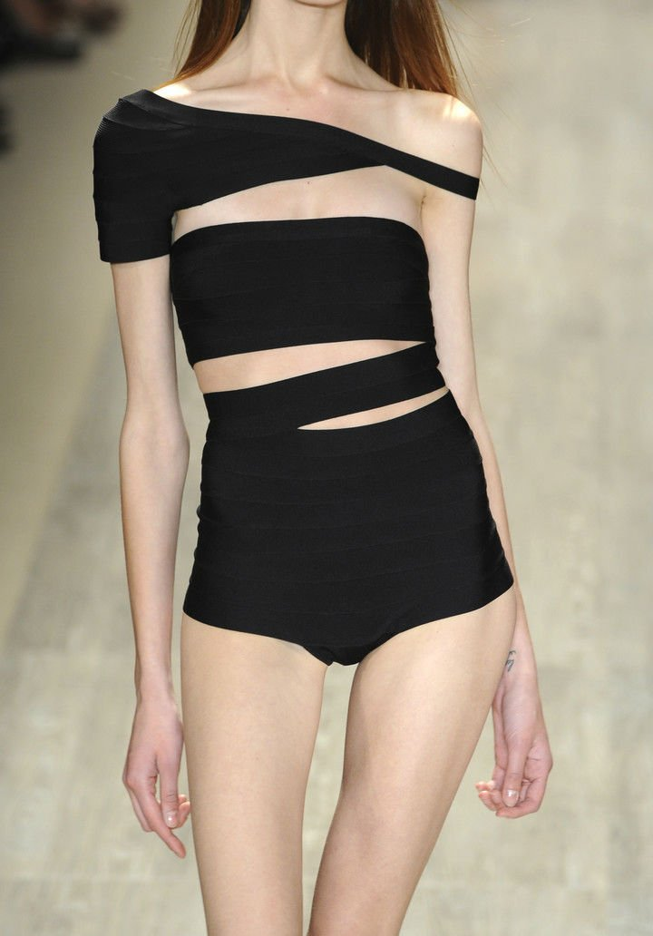 herve leger by max azria s/s 2009